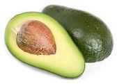 Avocado isolated on white background — Stock Photo