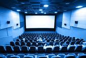Nicht erkennbar, in einem kinosaal — Stockfoto