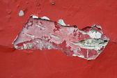 Textura de la pared roja grunge — Foto de Stock