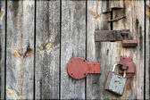 Vintage door — Stock Photo