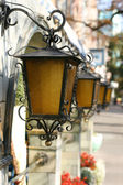 Retro lanterns — Photo