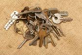Old keys — Stock Photo
