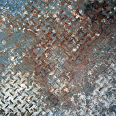 Old metal plate texture — Stock Photo