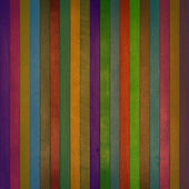 Colorful wooden wall texture — Stock Photo