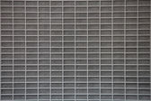 Gray metal grid — Stock Photo