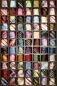 Neck ties collection — Stock Photo