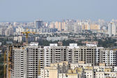 Kiev, ukrayna, havadan görünümü — Stok fotoğraf