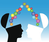 Consensus conceptual illustration — Stock Photo