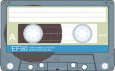 Cassette illustration — Stock Photo