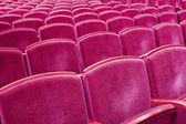 Theater seats — Stock Photo