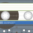 Royalty-Free Stock Vector Image: Audio cassette vector illustration
