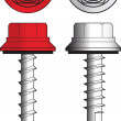 Screws illustration — Stock Vector #9710781