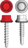 Screws illustration — Stock Vector