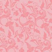Romantic wallpaper pattern — Stock Photo