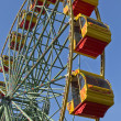 Attraction Ferris wheel. — Stock fotografie