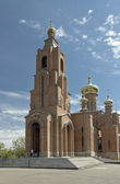 The bell tower the Holy Virgin Protection Cathedral of. — Stock Photo