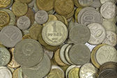Russian and Soviet coins. — Stock Photo