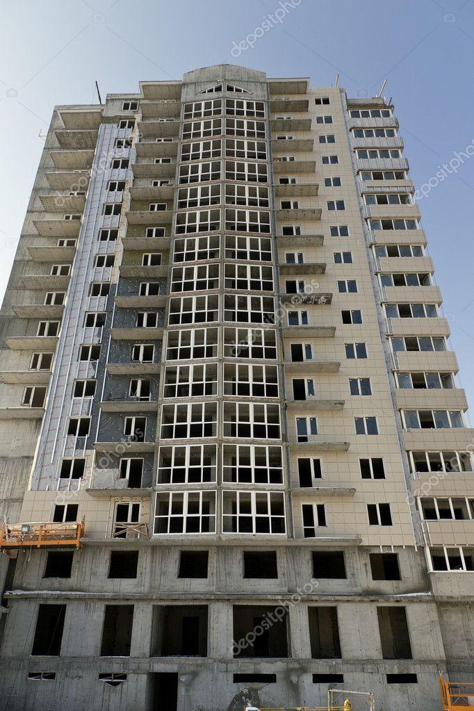Flera våningar byggnad under uppförande u2014 Stockfotografi u00a9 nikolay53 #9425820