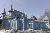 A fragment of Lermontov gallery. Pyatigorsk. — Stock Photo
