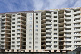 Residential building under construction. — Stock Photo