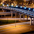 Stock Photo: Freeway at Night