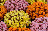 Multi coloridas de cupcakes — Fotografia Stock