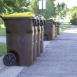 Stock Photo: Garbage Day