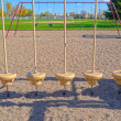 5 Circular Swings — Stock Photo #9452919