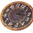 Stock Photo: Old Wall Clock