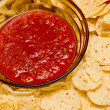 Stock Photo: Chips and Salsa