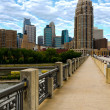 UrbBridge Walkway — Stock Photo #9455349