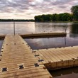 Stock Photo: Boat Dock