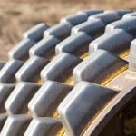 Hydraulic Dirt Rolling Machine — Stock Photo #9456142