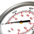 Pressure Gauge Zero PSI — Stock Photo #9456720