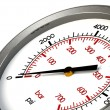 Pressure Gauge Zero PSI — Stock Photo