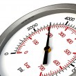 Pressure Gauge 3000 PSI - Stock Photo