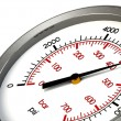 Stock Photo: Pressure Gauge 6000 PSI