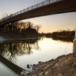 Minnesota River Sunset — Stock Photo
