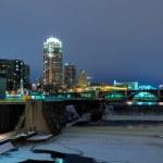 Minneapolis Minnesota at Night — Stock Photo #9457407
