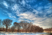 Minnesota River Wintertime — Stock Photo