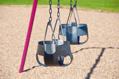 Two Child Swings — Stock Photo