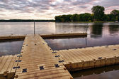 Boat Dock — Stock Photo