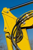 Hydraulic Hoses — Stock Photo