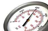 Pressure Gauge 4000 PSI — Stock Photo