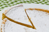 Viennese Lemon Tart — Stock Photo