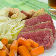 Corned Beef Cabbage - ストック写真