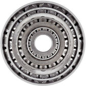 Stacked Bearings Isolated — Stock Photo