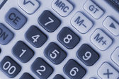Close-up of calculator for different uses (monochrome) — Stock Photo