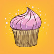 Muffin cartoon — Image vectorielle
