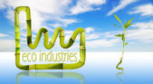 Eco Industries — Stock Photo